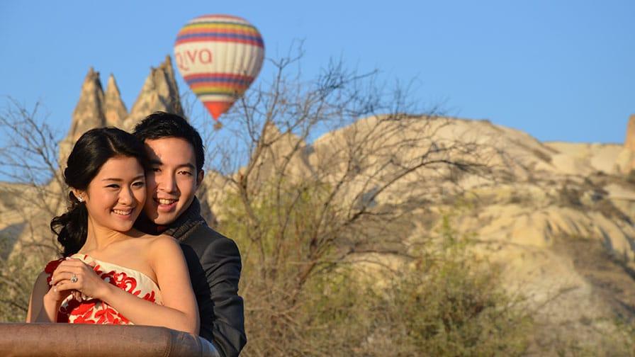 Cappadocia (Kapadokya) Balloon Wedding