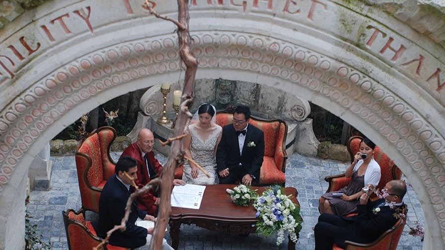 Sacred House Wedding in Cappadocia Turkey