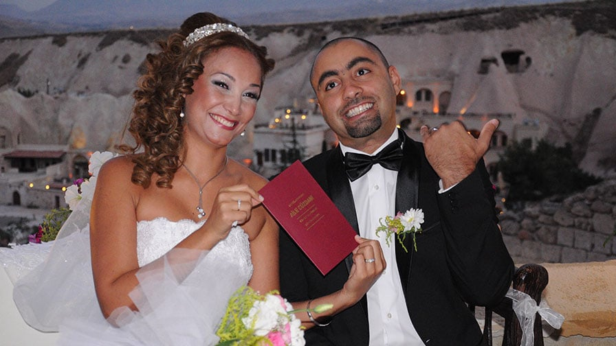 Helia & Elias at Cappadocia Wedding