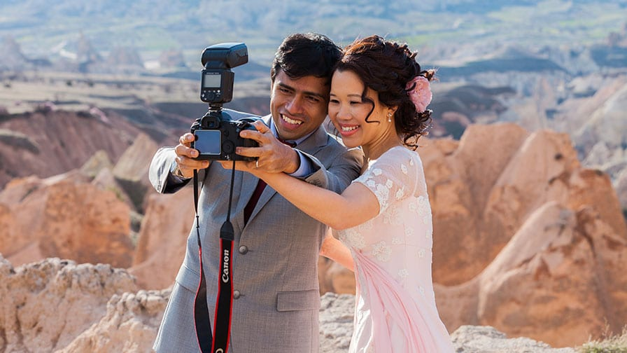 Malaysians Getting Married in Cappadocia Turkey