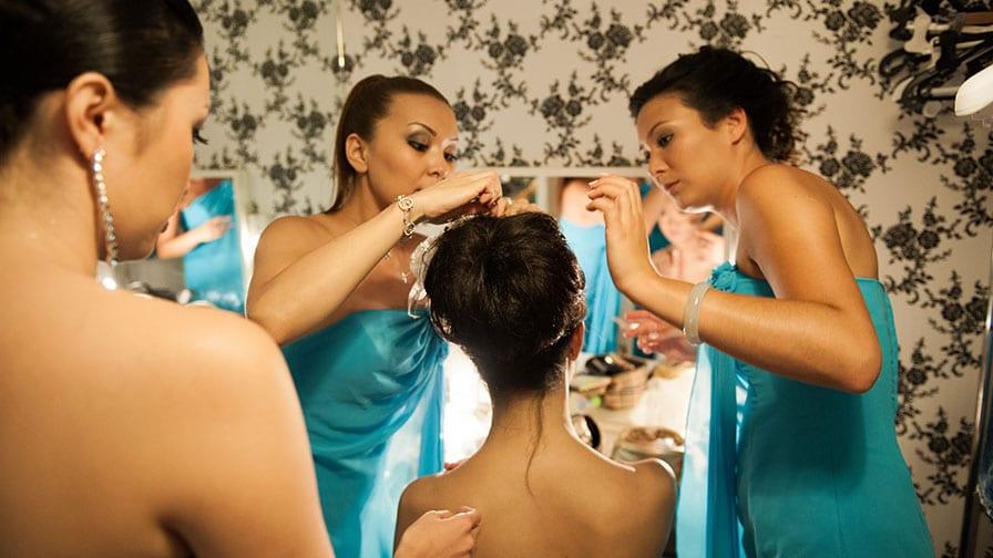 Hair Dresser for Brides & Bridesmaids in Turkey