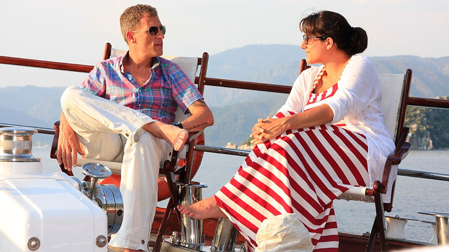Honeymoon On Private Gulet After Wedding