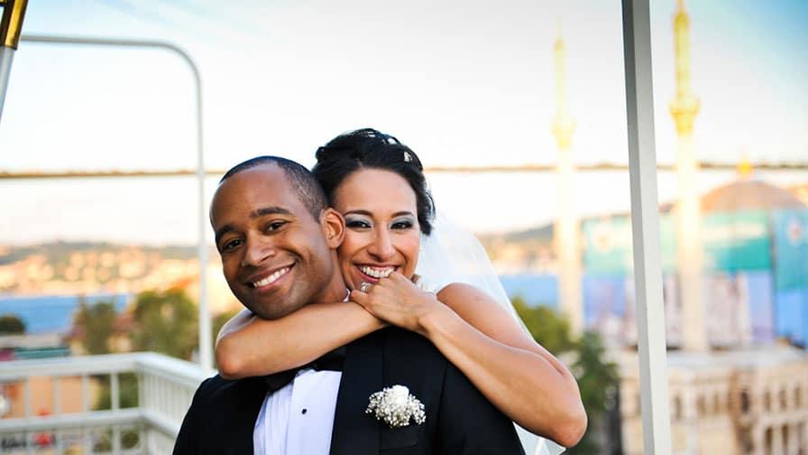 Istanbul Bosphorus Wedding