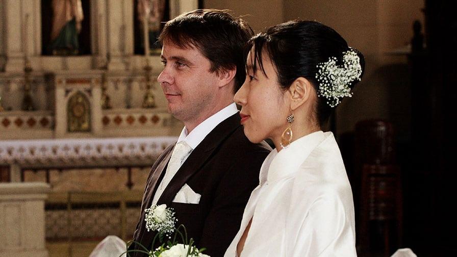 Kumi at Antonius Church Wedding Istanbul