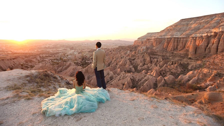 Pre Wedding Photoshoot in Cappadocia Turkey