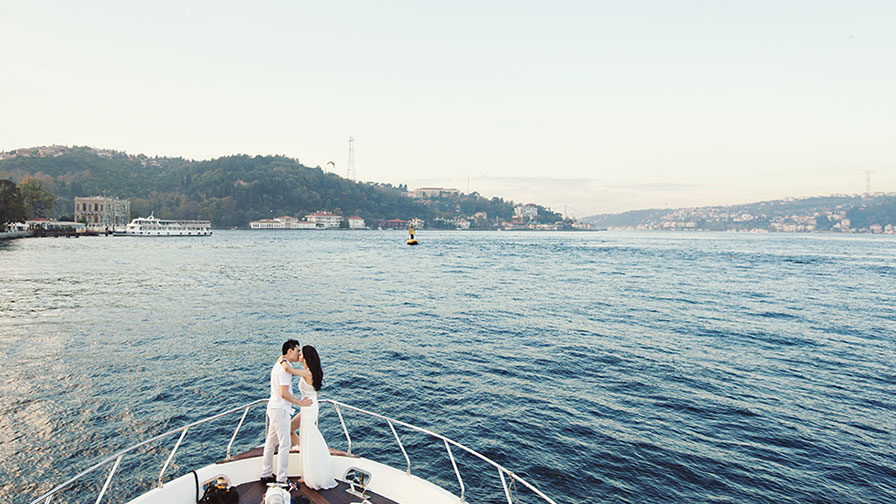 Private Bosphorus Cruise after Wedding