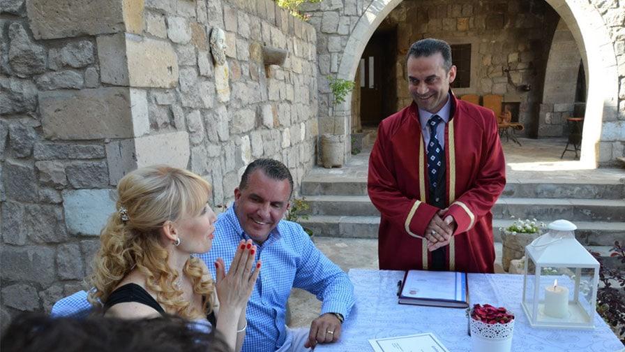 Scott and Jetiana by Turkey Wedding