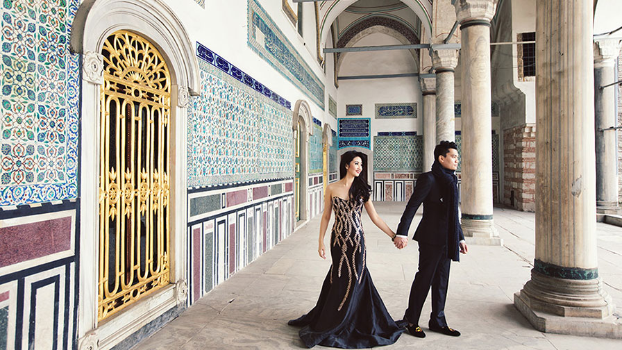 Topkapi Palace Pre Wedding Photos