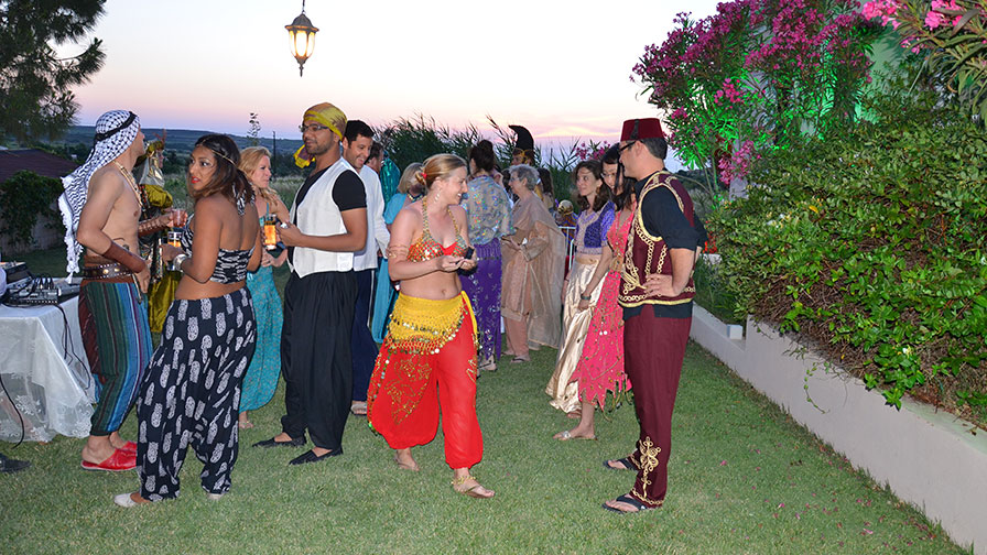 Turkey Wedding Arabian Nights