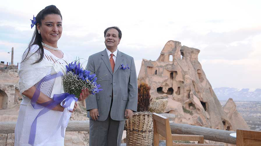 Mohammed & Najwa in Cappadocia Turkey Wedding