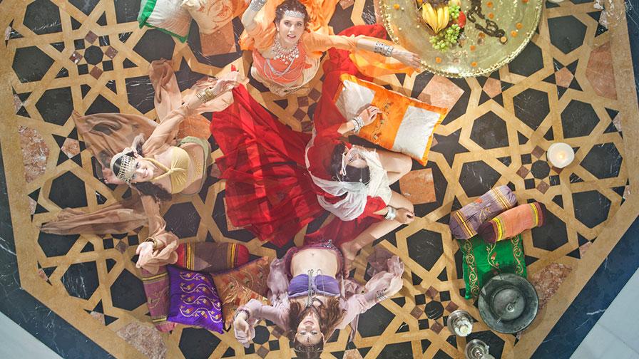 Turkish Hamam Before Wedding