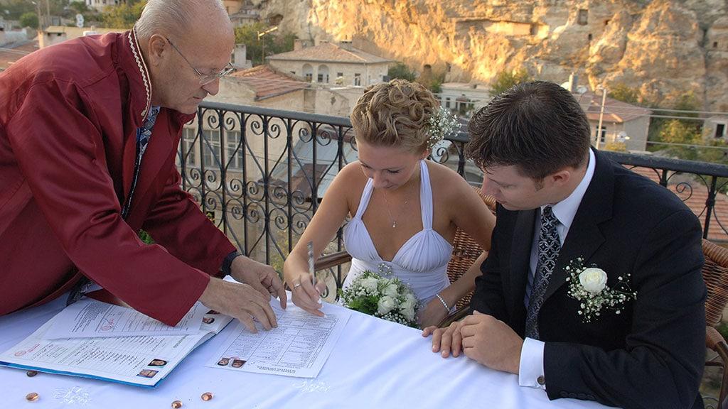 Wedding Ceremony in Cappadocia Turkey