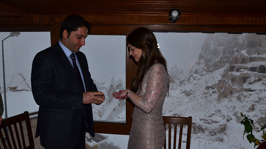 Winter Wedding in Turkey