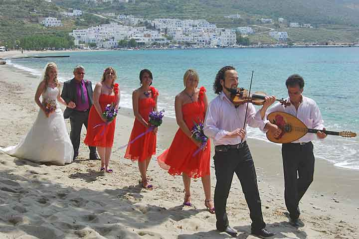Beach Weddings Greece