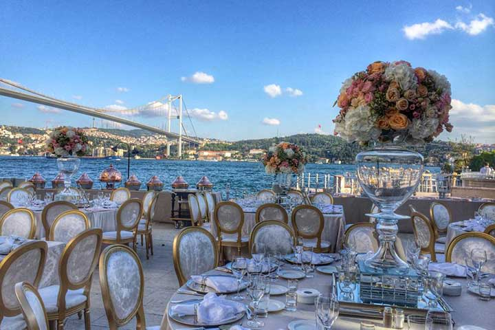 Istanbul Bosphorus Wedding Venue