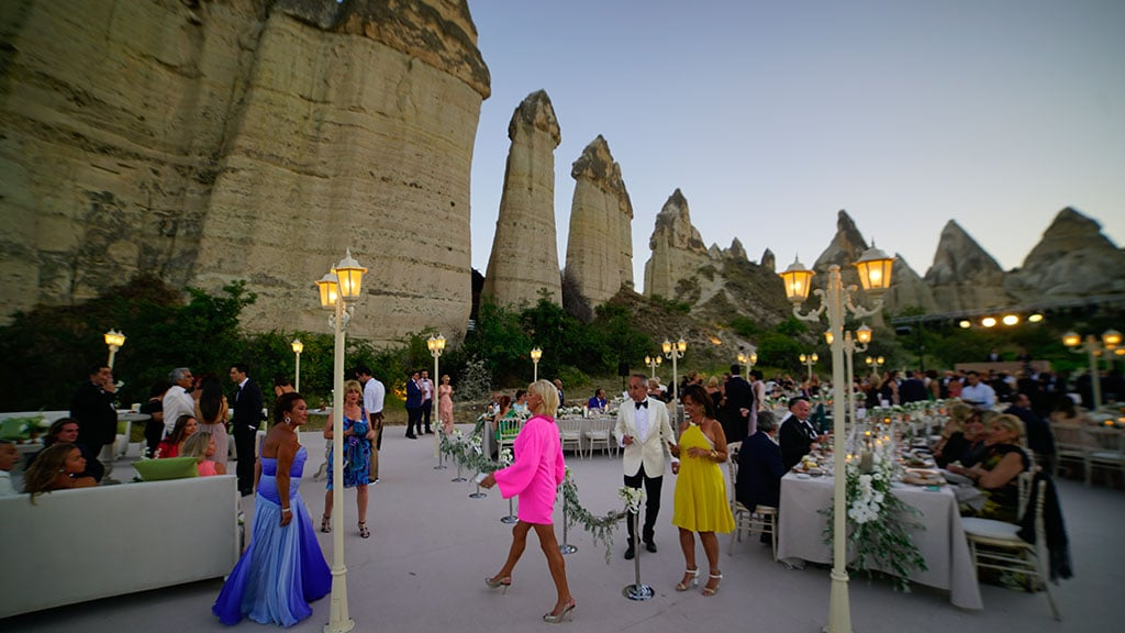 Cappadocia Wedding Guests Love Valley